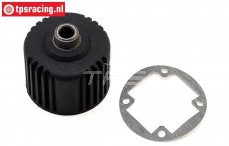 LOS252069 Differential Housing with gasket Super Baja-Rock Rey, Set