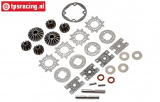 LOS252070 Differential Rebuild Super Baja-Rock Rey, Set