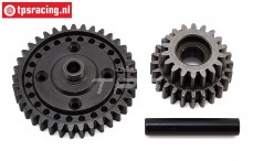 LOS252080 Center transmission gear Super Baja-Rock Rey, Set
