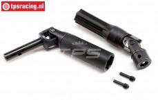 LOS45030 Front drive shaft SRR-SBR 2.0, 2 pcs