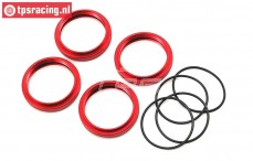LOS253009 Shock adjustment ring DBXL-MTXL, Set
