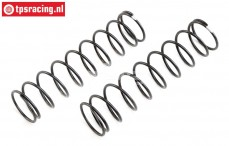 LOS253024 Shock spring Medium Silver Super Rock Rey, 2 pcs.