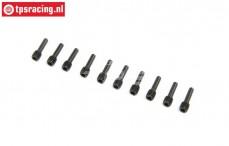 LOS252131 Driveshaft Screw Pin SBR-2.0-SRR, 10 pcs