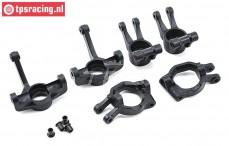 LOS254005 Wheelhubs front/rear DBXL-MTXL, Set
