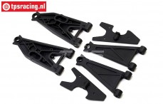 LOS254037 Front Suspension arm Super Baja Rey, Set