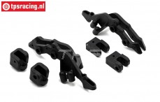 LOS254040 ShockTower Rear SBR, Set