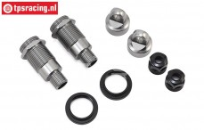 LOS254041 Shock Body & Collar Front Super Baja Rey, Set