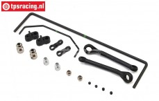 LOS254043 Front & Rear Sway SBR Bar, Set