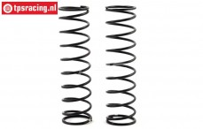 LOS254047 Rear Spring Medium Silver Super Baja Rey, 2 pcs.