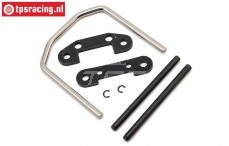 LOS254048 Front Hinge Pin and Brace SBR, Set