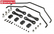 LOS254065 LOSI DBXL-E 2.0 Sway Bar, Set