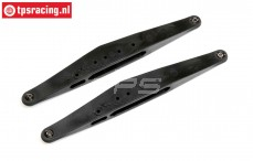 LOS254067 Rear Trailing arm, SBR 2.0, 1 pc.