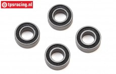 LOS257007 Ball-bearing Ø4-Ø8-H3 mm, 4 pcs.