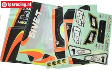 LOS259000 Decals LOSI 5IVE RTR AVC, Set