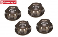 LOSB3228 Wheelnut closed BWS-5B-5T-MINI, 4 pcs.
