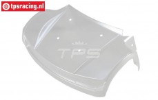 LOS350003 Body front Transparant Super Baja Rey, 1 pc.