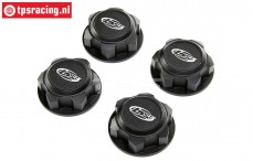 LOS352009 LOSI DBXL-E 2.0 Wheel nut Black, 4 pcs.
