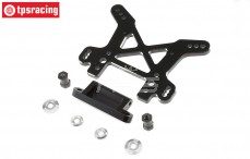 LOS354004 Shock Tower front black, LOSI DBXL-MTXL, 1 pc