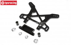 LOS354005 Shock Tower rear black, LOSI DBXL-MTXL, 1 pc