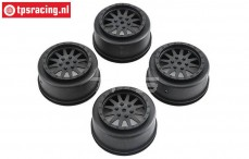 LOS43006 Rims SBR Black, 4 pcs.