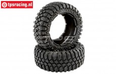 LOS45017 Creepy Crawler tires DBXL-E, 2 pcs.
