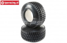 LOS45019 Desert Claw tyres with foam SBR, 2 pcs.