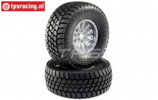 LOS45021 Desert Claw tyres Mounted Super Baja Rey, 2 pcs.