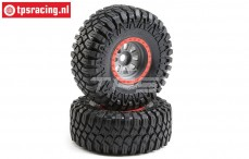 LOS45029 Maxxis Creepy Crawler mounted Super Rock Rey, 2 st.