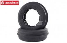 LOS45035 LOSI DBXL-E 2.0 Slicers Rib Tires, 2 pcs.