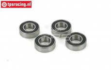 LOSA6942 Ball-bearing Ø8-Ø16 mm, 4 pcs.