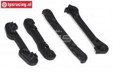 LOSB2079 Hinge pin protector LOSI-BWS, Set