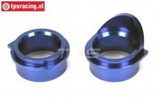 LOSB2544 Bearing inserts transm. housing 5B-5T-MINI, Set