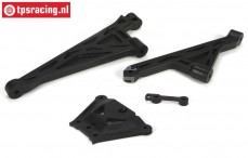 LOSB2558 Chassis support/plate LOSI-BWS-TLR, Set