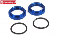 LOSB2870 Shock absorber adjustment ring 5B-5T-MINI, 2 pcs.