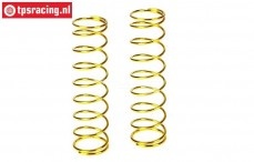 LOSB2970 Shock spring rear gold 5B-5T-MINI, 2 pcs.