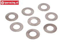 TPS3201/20 Steel Shim Ring Ø10-Ø20-H0,3 mm, 8 pcs.