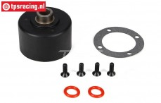 LOSB3201 Differential Housing BWS-LOSI-TLR, Set
