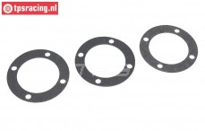 TPS3201/01 Tuning Diff. gasket LOSI 5T-BWS-TLR, 3 pcs.