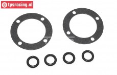 TPS3201/02 Differential gasket-O-ring BWS-LOSI, Set