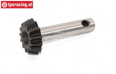 BWS55033 Hardened Gear axle 13T, (5B-5T-MINI-BWS), 1 pc.