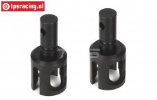 LOSB3213 Tuning Differential axle BWS-LOSI-TLR, 2 pcs.