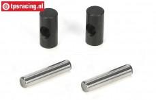 LOSB3217 CV Joints/Pins, LOSI 5T-BWS-TLR, Set