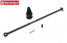 BWS59026 Driveshaft/CV Coupler center/rear BWS-LOSI, Set