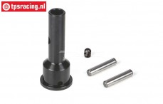 LOSB3224 Wheel axle LOSI-BWS-TLR, 1 st.
