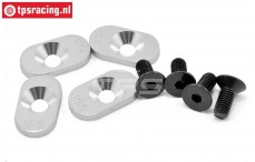 LOSB5804 Engine Mount Inserts 19,5-58T BWS-LOSI-TLR, 4 pcs.