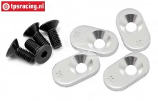 LOSB5805 Engine Mount Inserts 18-58 BWS-LOSI-TLR, 4 pcs