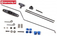LOSB5901 Throttle-Brake linkage, 5B-5T-MINI, Set