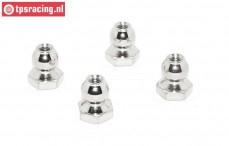 TPS5904/01 Coated steel balls track rods LOSI-BWS, 4 pcs.