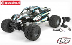 LOS05009T1 LOSI 1/5 MONSTER TRUCK XL 4WD RTR Black