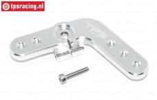 TPS0029/02 Alloy Servo horn 15T Silver DBXL-MTXL, 1 pc.